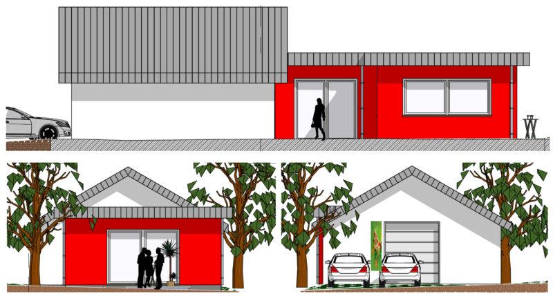 Anbau an eine bestehende Halle